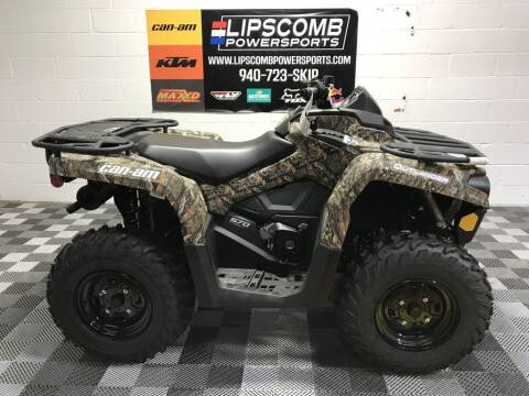 2021 Can-Am Outlander DPS 570 Mossy Oak Br for sale at Lipscomb Powersports in Wichita Falls TX