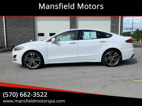 2019 Ford Fusion for sale at Mansfield Motors in Mansfield PA