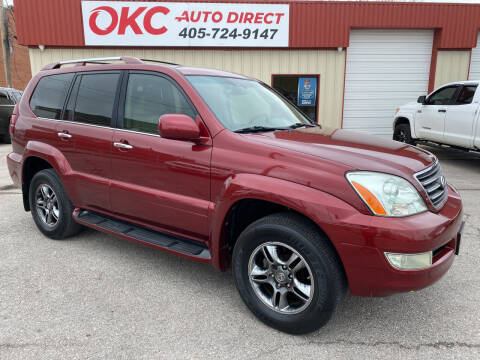 2008 Lexus GX 470 for sale at OKC Auto Direct in Oklahoma City OK