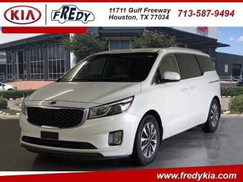 2015 Kia Sedona for sale at FREDY KIA USED CARS in Houston TX