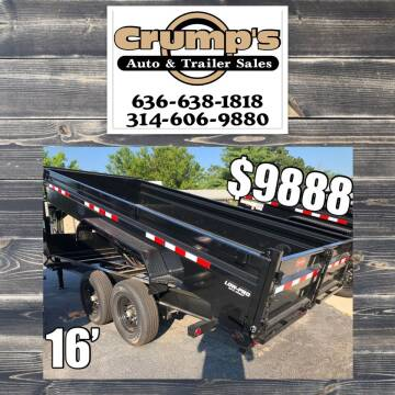 2021 Pj 16' Gooseneck Dump Trailer for sale at CRUMP'S AUTO & TRAILER SALES in Crystal City MO
