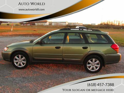 2007 Subaru Legacy for sale at Auto World in Carbondale IL