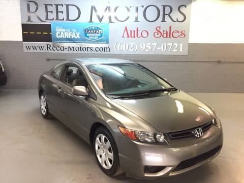 2006 Honda Civic for sale at REED MOTORS LLC in Phoenix AZ
