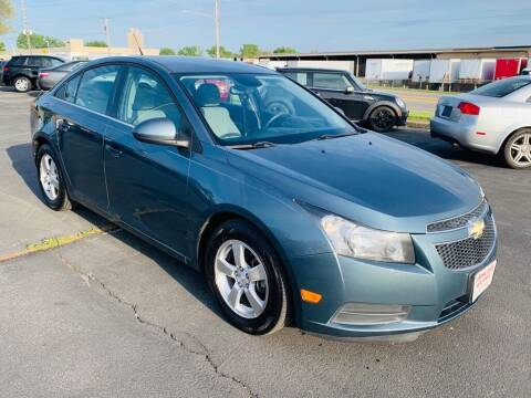 2012 Chevrolet Cruze for sale at Central Iowa Auto Sales in Des Moines IA