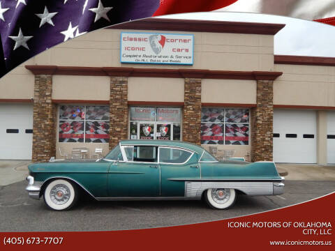 1957 Cadillac Fleetwood for sale at Iconic Motors of Oklahoma City, LLC in Oklahoma City OK