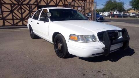 2011 Ford Crown Victoria for sale at Used Car Showcase in Phoenix AZ