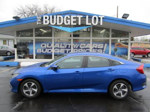 2019 Honda Civic for sale at THE BUDGET LOT in Detroit MI