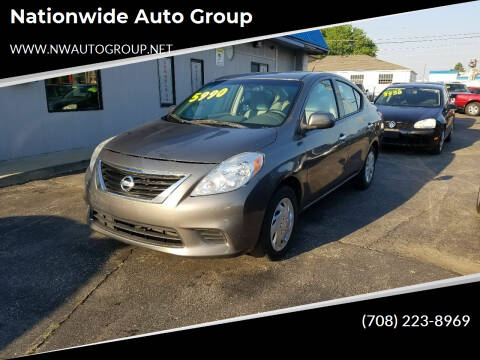2014 Nissan Versa for sale at Nationwide Auto Group in Melrose Park IL