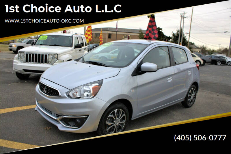 2018 Mitsubishi Mirage for sale at 1st Choice Auto L.L.C in Oklahoma City OK