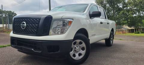 2017 Nissan Titan for sale at El Camino Auto Sales - Global Imports Auto Sales in Buford GA