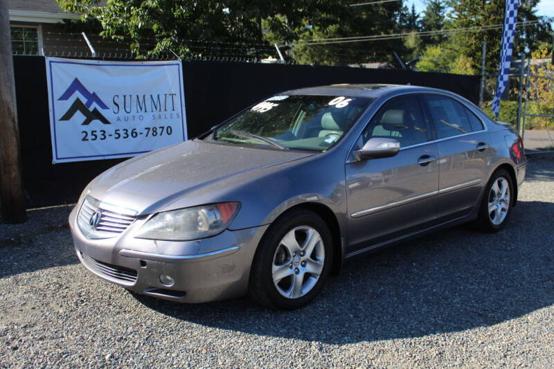 2006 Acura RL for sale at Summit Auto Sales in Puyallup WA