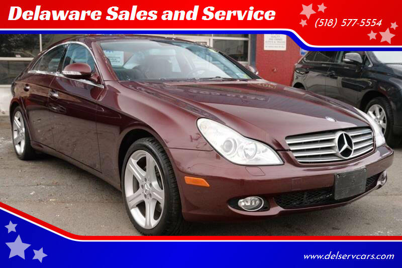 2007 Mercedes-Benz CLS for sale at Delaware Sales and Service in Albany NY