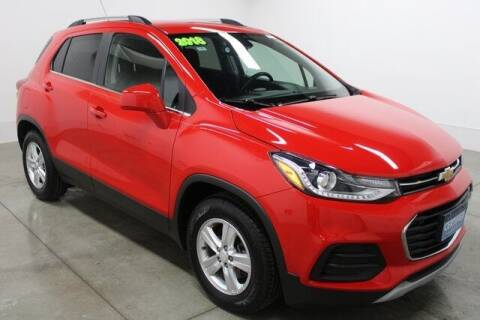 2018 Chevrolet Trax for sale at Bob Clapper Automotive, Inc in Janesville WI