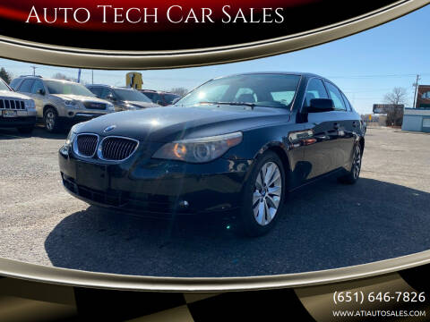 2007 BMW 5 Series for sale at Auto Tech Car Sales in Saint Paul MN