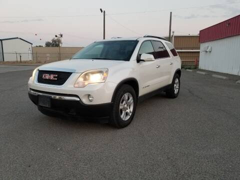 2008 GMC Acadia for sale at KHAN'S AUTO LLC in Worland WY
