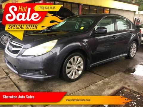 2010 Subaru Legacy for sale at Cherokee Auto Sales in Acworth GA