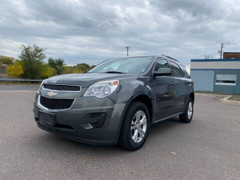 2012 Chevrolet Equinox for sale at Auto Tech Car Sales in Saint Paul MN