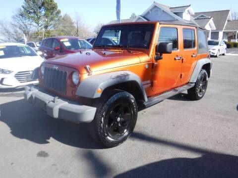 2010 Jeep Wrangler Unlimited for sale at Rob Co Automotive LLC in Springfield TN