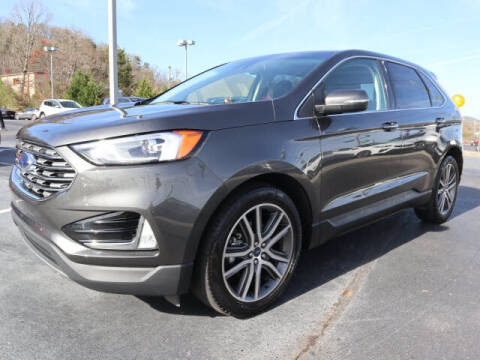 2019 Ford Edge for sale at RUSTY WALLACE KIA OF KNOXVILLE in Knoxville TN