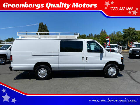 2009 Ford E-Series Cargo for sale at Greenbergs Quality Motors in Napa CA