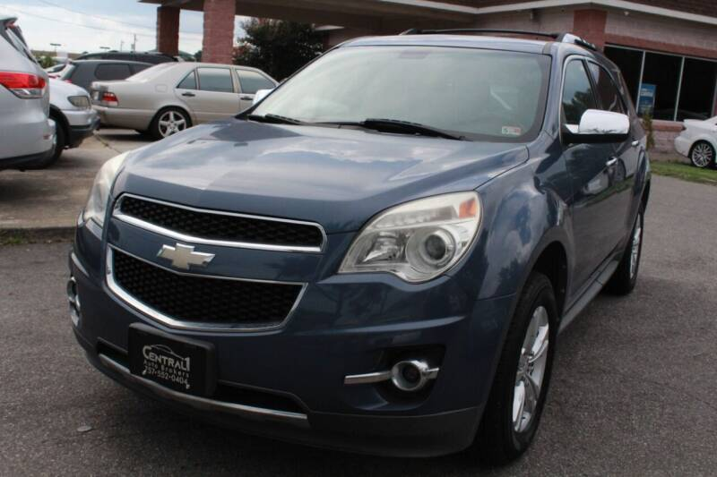 2011 Chevrolet Equinox for sale at Central 1 Auto Brokers in Virginia Beach VA