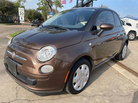 2015 FIAT 500 for sale at Newsed Auto in Houston TX
