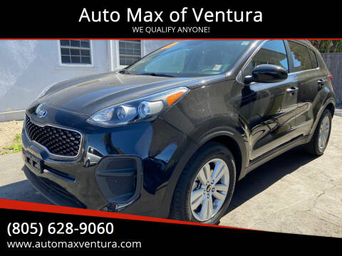 2017 Kia Sportage for sale at Auto Max of Ventura - Automax 3 in Ventura CA