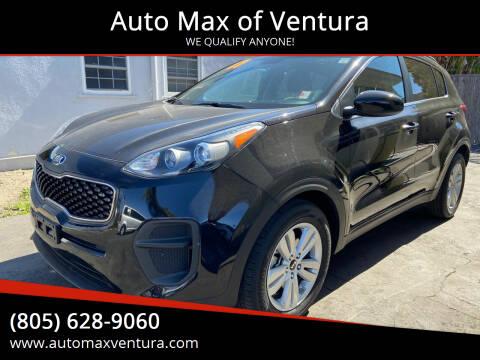 2017 Kia Sportage for sale at Auto Max of Ventura - Automax 3 in Ventura CA