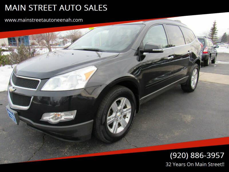 2011 Chevrolet Traverse for sale at MAIN STREET AUTO SALES in Neenah WI