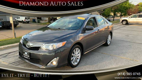 2014 Toyota Camry for sale at Diamond Auto Sales in Milwaukee WI