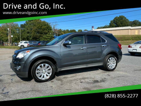 2011 Chevrolet Equinox for sale at Drive and Go, Inc. in Hickory NC