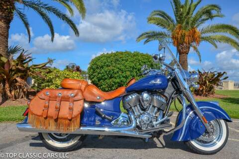 2014 Indian Chief Vintage for sale at Top Classic Cars LLC in Fort Myers FL