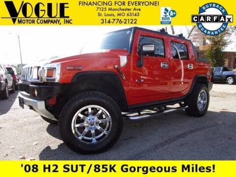 2008 HUMMER H2 SUT for sale at Vogue Motor Company Inc in Saint Louis MO