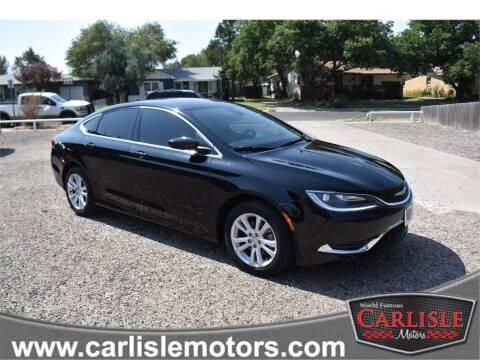 2016 Chrysler 200 for sale at Carlisle Motors in Lubbock TX