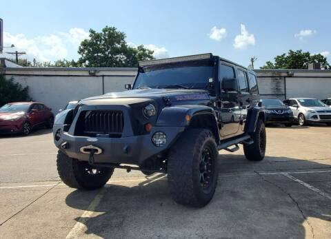 2013 Jeep Wrangler Unlimited for sale at International Auto Sales in Garland TX