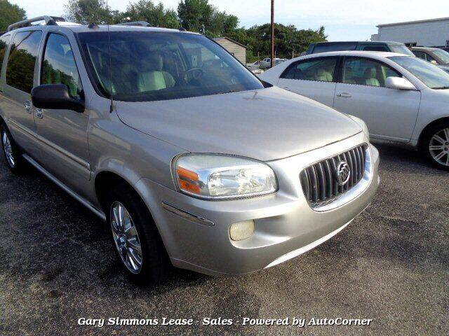 2005 Buick Terraza for sale at Gary Simmons Lease - Sales in Mckenzie TN