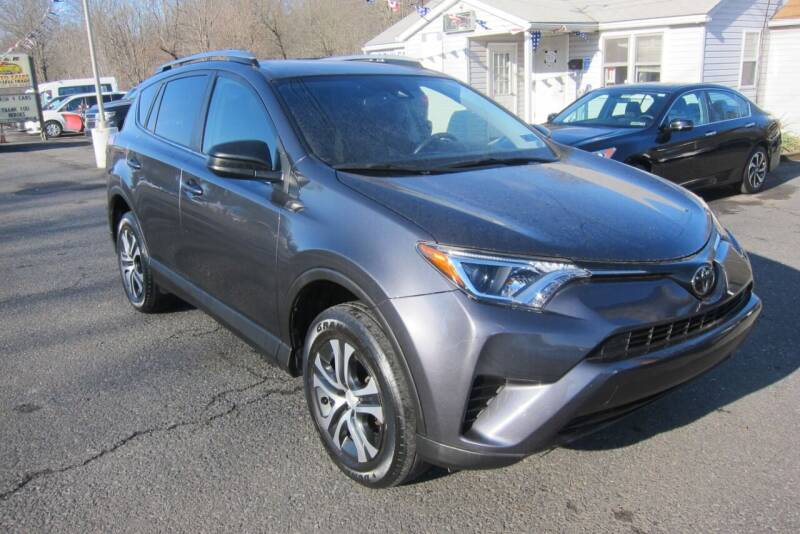 2017 Toyota RAV4 for sale at K & R Auto Sales,Inc in Quakertown PA