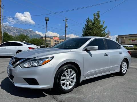 2017 Nissan Altima for sale at Ultimate Auto Sales Of Orem in Orem UT