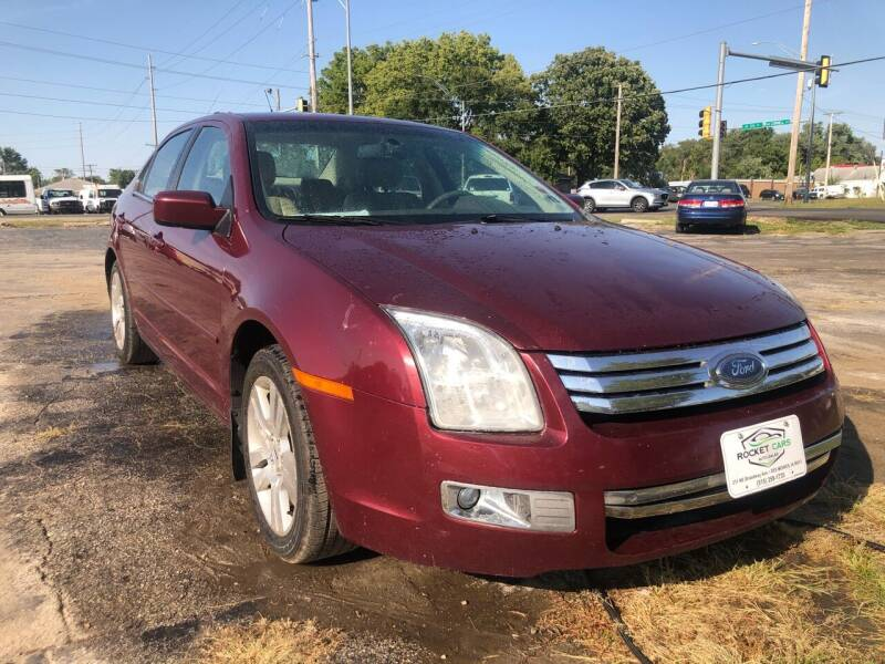 2007 Ford Fusion for sale at Rocket Cars Auto Sales LLC in Des Moines IA