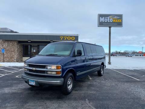 2000 Chevrolet Express Passenger for sale at MotoMaxx in Spring Lake Park MN