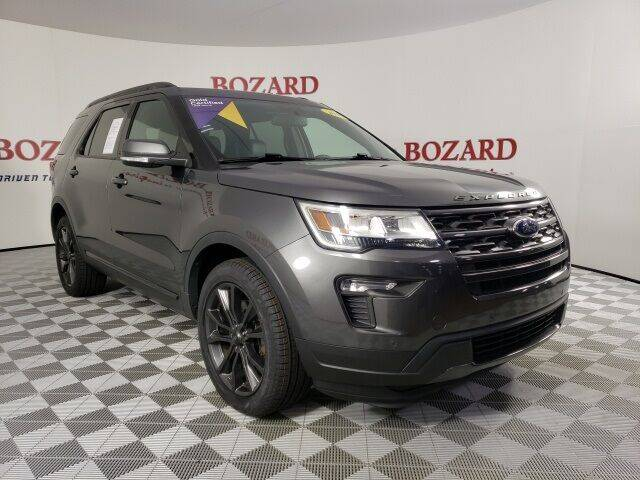 2018 Ford Explorer for sale at BOZARD FORD in Saint Augustine FL