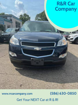 2012 Chevrolet Traverse for sale at R&R Car Company in Mount Clemens MI