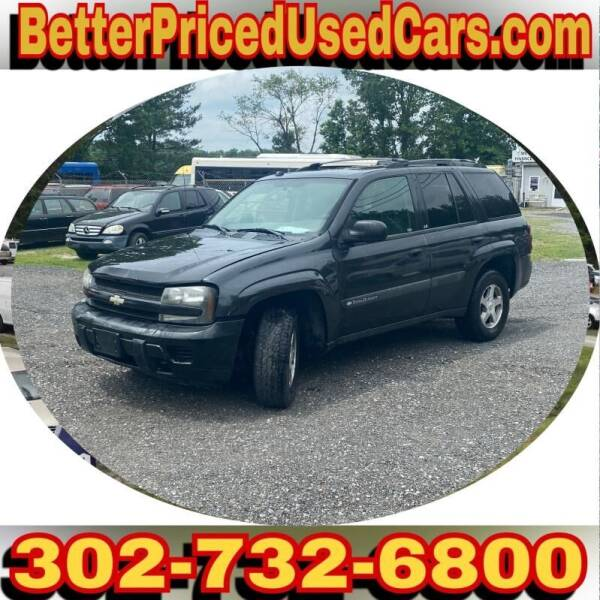 2004 Chevrolet TrailBlazer for sale at Better Priced Used Cars in Frankford DE