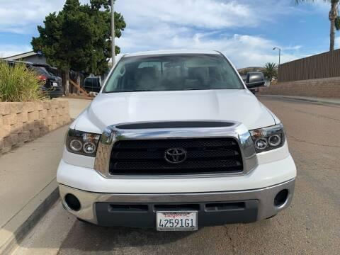 2008 Toyota Tundra for sale at Aria Auto Sales in El Cajon CA