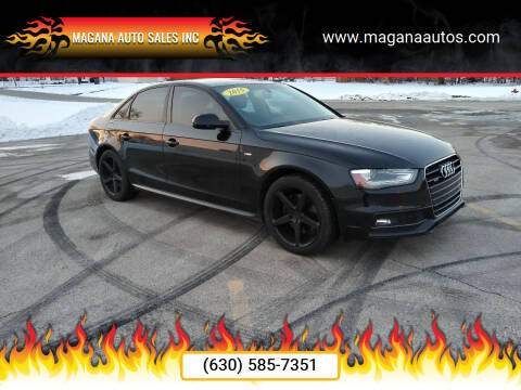 2015 Audi A4 for sale at Magana Auto Sales Inc in Aurora IL