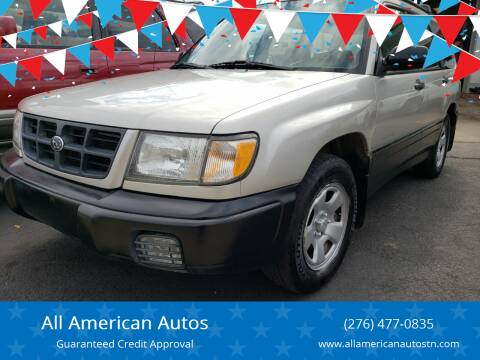 2000 Subaru Forester for sale at All American Autos in Kingsport TN