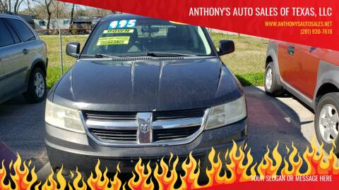 2009 Dodge Journey for sale at Anthony's Auto Sales of Texas, LLC in La Porte TX