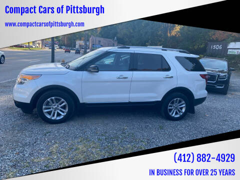 2011 Ford Explorer for sale at Compact Cars of Pittsburgh in Pittsburgh PA