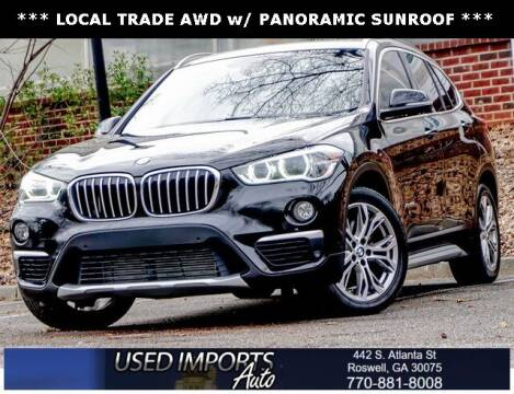 2016 BMW X1 for sale at Used Imports Auto in Roswell GA