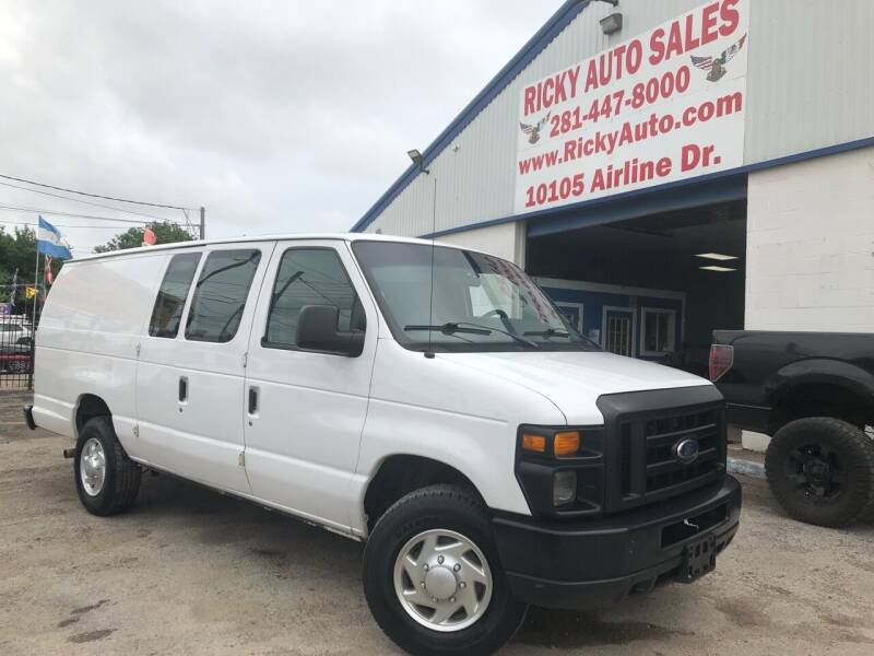 2011 Ford E-Series Cargo for sale at Ricky Auto Sales in Houston TX